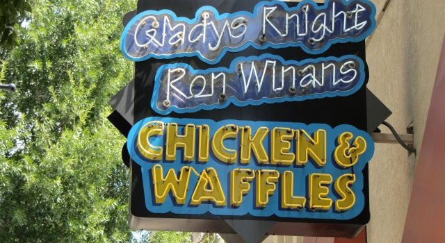 Raids took place at Gladys Knight's Chicken and Waffles restaurants