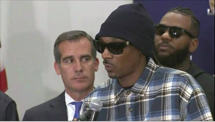 snoop dogg, the game, Pure Truth LLC, Los Angeles Police Department, Chief Beck