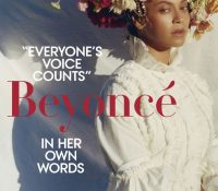 Beyoncé is on the cover of Vogue